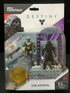 Mega Bloks Destiny FMK05 Xur Arsenal Building Blocks Figures Toy *New Sealed*