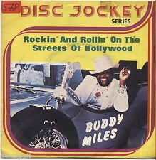 """BUDDY MILES - Rockin' and rollin' on the streets - VINYL 7"""" 45 LP 1975 NM/ VG-"""