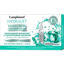 INTENSIVE CONCENTRATE WITH HYALURONIC ACID -  7 AMPOULES 2 ML each