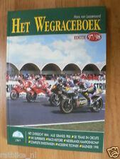 HET WEGRACEBOEK 1997-1998 MOTO GP,COVER START 250CC,MOTO GUZZI HISTORY