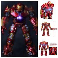 2020 Avengers New Hulkbuster Iron Man Metal Color Ultron Action Figure Model