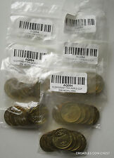 2006 WORLD CUP GERMANY MEDALLIONS VARIOUS 5 BAGS OF 10 BARGAIN TOTAL 50 #AQ084