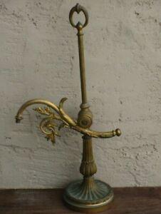 Vintage Bronze Brass Student Desk Lamp Light Fixture signed Brlve??? SGDG
