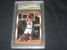 VINCE CARTER 98-99 TOPPS 199 ROOKIE GENUINE AUTHENTIC BASKETBALL CARD GRADED 8.5