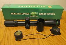 Mueller 8-32x44 Side Focus MIL DOT Tactical Target Sniper Rifle Scope 30mm Tube