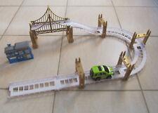 Electric Rail Car Race Track Road Racing Car Bridge Toy Spare Parts 26 Pcs
