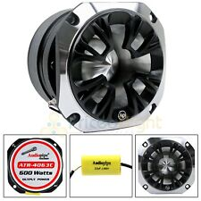 2 Inch 600 W Watt Heavy Duty Titanium Super Tweeter ATR-4063C Audio Audiopipe