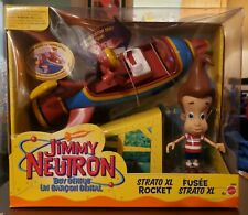 NIB Jimmy Neutron Boy Genius Strato XL Rocket (2001)