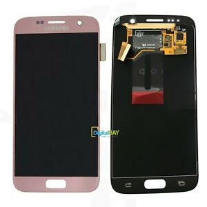 Lcd Touch Display Schermo Rose Gold Originale Samsung per Galaxy S7 SM-G930