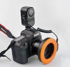 Pro Photo W48 LED Macro Ring continuous Flash Light for CANON NIKON Camera DSLR