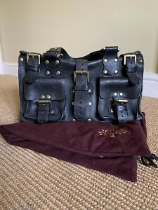 Mulberry Black Roxanne Bag With Dust Bag And Liner