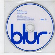 (GN258) Blur, Parklive Disk Two - 2012 CD