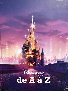 Livre Disneyland Paris De A à Z Neuf Sous Blister ( FR & EN)  PRET A EXPEDIER
