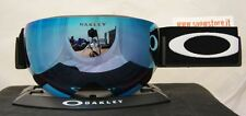 OAKLEY FLIGHT DECK MATTE BLACK PRIZM SAPPHIRE IRIDIUM MASCHERA SKI SNOWBOARD NEW