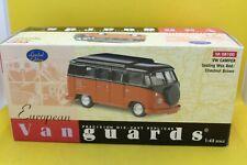 Lledo Vanguards Volkswagen Camper Sealing Wax Red/Chestnut Brown No VA 08100