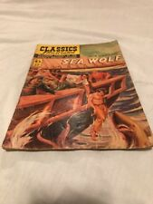 Sea Wolf Classics Illistrated Comic Book By Jack London