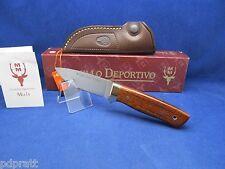 """Muela Kodiak 8 1/2"""" Cocobolo Fixed Blade Knife Mint In Box Very Nice - 10CO"""