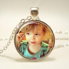 Custom Mother's Day Personalized Photo Necklace, Keepsake Photo Jewelry
