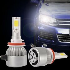 2X H8 H9 H11 LED Phare de voiture 55W 10000LM Ampoule Lampe IP68
