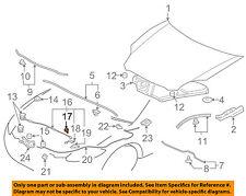 MITSUBISHI OEM 06-12 Eclipse Hood-Support Rod Bolt MS240391