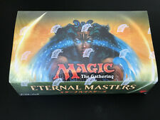 Japanese Eternal Masters Booster Box! Magic The Gathering MTG! FREE SHIPPING!