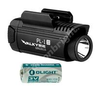 Olight PL-1 II Valkyrie 450 Lumen weapon rail LED Pistol light / CR123A PL1