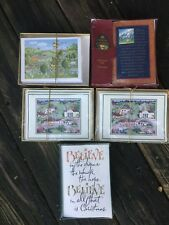 Vintage Lot of 5 Christmas Cards New In Box Pat Dougherty Art James River ��j8