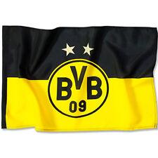 BVB Borussia Dortmund Stockfahne BVB Logo Fahne 90 x 60