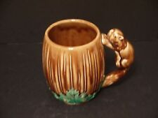 Coffee Mug~Monkey~Tiki Hut~Ceramic Cup~Bar Ware Souvenier~Vintage~Unusual