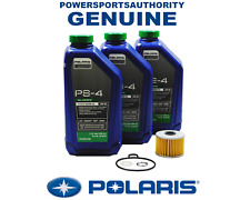 2003-2007 Polaris Predator 500 LE OEM PS-4 Full Synthetic Oil Change Kit POL20