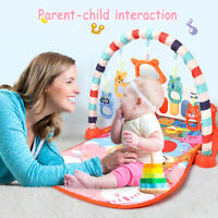 Baby Mini Musical Fitness Play Mat Piano Carpet Educational Toy For 0-24