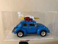 Display case for Lego  Volkswagen Beetle 10252  ( Sydney Stock) Top Rated Seller