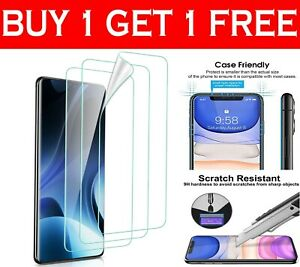 Gorilla Tempered Glass Shockproof Screen Protector For Samsung Galaxy Phones UK