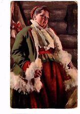 Anders Zorn - Russian Art Postcard