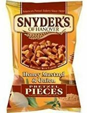 Snyders Pretzel Pieces Honey Mustard & Onion pack of 12