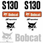 Bobcat S130 DECALS Stickers, Skid Steer loader New Repro decal Kit
