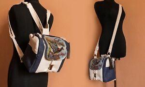 Camera Backpack Women Designer Padded Crossbody DSLR Bag for Canon Handmade