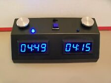 ZMFII Digital Chess Clock made in USA- BLUE display NEW