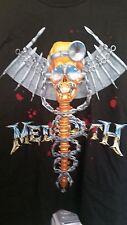MEGADETH 1993 Dr. Vic vintage licensed Realm of Deth concert long-sleeved shirt