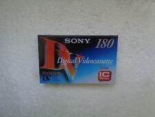 Cassette Vierge pour Camescope DV SONY 180 - Digital Videocassette Neuf