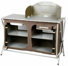 OZtrail Camp Kitchen Deluxe Sink Table