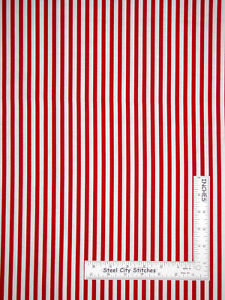 Basics 18 Stripe Red Riley Blake Designs red lines Stripes 100/% Premium Cotton blender Fabric by the Yard