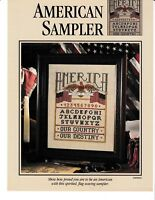 American Sampler Cross Stitch | Leisure Arts SERPREM4