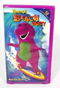 Barneys Beach Party (VHS, 2002) Clamshell Case