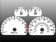 2003-2004 Jaguar S Type MPH Dash Cluster White Face Gauges 03-04