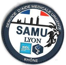 Ecusson PVC SAMU LYON RHONE 69