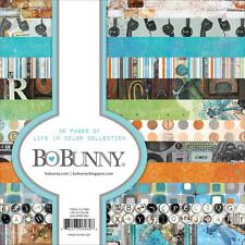 """Bo Bunny LIFE IN COLOR - 6x6"""" Paper Pad - 36 pp - Cardmaking"""