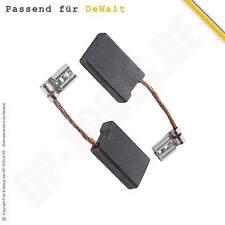 Kohlebürsten Kohlen Motorkohlen für DeWalt D 28490 Typ 1 6,3x16mm 585041-00