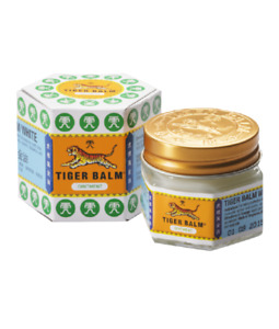 30g TIGER BALM WHITE OINTMENT  MUSCLE PAIN ACHES THAI HERBAL RELIEF MASSAGE RUB