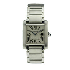 Mens Cartier Tank Francaise 2301, Wrist Watch, Pre-Owned